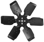 "Derale 17"" Rigid, Steel-Blade Race Fan - Belt Driven - 8,000 RPM"