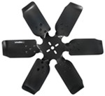 "Derale 19"" Rigid, Steel-Blade Race Fan - Belt Driven - 8,000 RPM"