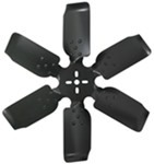 "Derale 20"" Rigid, Steel-Blade Race Fan - Belt Driven - 8,000 RPM"