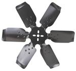 "Derale 19"" Rigid, Steel-Blade Race Fan - Belt Driven - 8,000 RPM - Reverse Rotation"