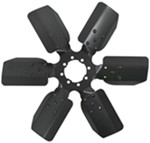 "Derale 17"" Fan Clutch Fan with Reverse Rotation"