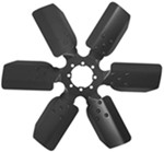 "Derale 18"" Fan Clutch Fan with Reverse Rotation"