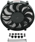 "Derale 17"" High-Output, Electric, Single Radiator Fan - 2,400 CFM"