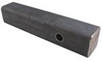 "Curt Solid Steel 2"" Hitch Bar with Raw Finish - 10"" Long"