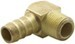 "Derale 3/8"" NPT Male x 1/2"" Barb 90-Degree Hose Fitting"