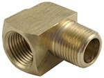 "Derale 3/8"" NPT Female x 3/8"" NPT Male 90-Degree Hose Fitting"