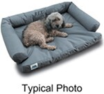"Canine Covers Ultimate Dog Bed - Small - Ash - 24"" x 20"""