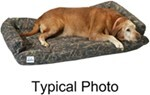 "Canine Covers Ultimate Dog Bed - Large - Pink Camo - 48"" x 30"""