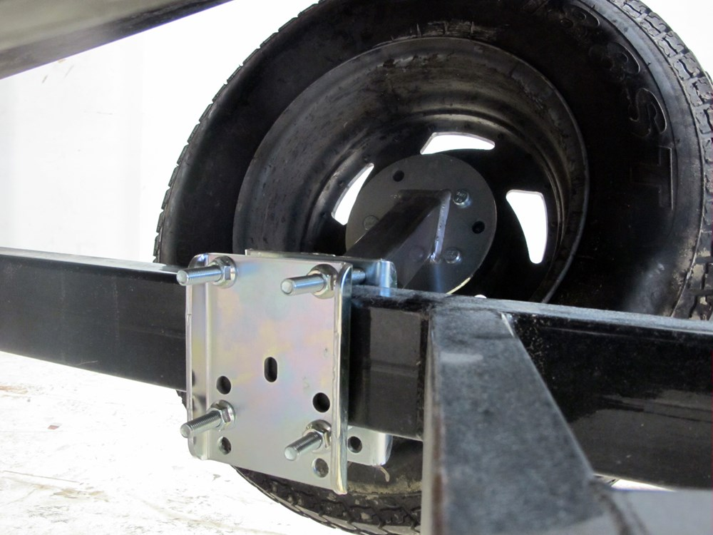 Extra Offset Trailer Spare Tire Carrier by Dutton-Lainson Dutton-Lainson Trailer Cargo Control ...