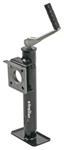 "Pull Pin, Easy Swivel Trailer Jack with Foot - Topwind - 10"" Travel - 2,000 lbs."