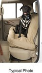 Canine Covers Travel Buckle-Up Pet Harness - Extra Large - Taupe