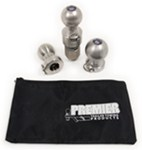 "Interchangeable Ball Set - 1-7/8"", 2"", 2-5/16"" Balls - 1"" Shank - Stainless"