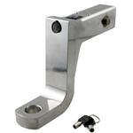 "Self-Locking, Aluminum Ball Mount - 6"" Drop, 5"" Rise - Anti-Rattle Tensioned - 14,000 lbs"