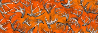 Whitetail Racks pattern