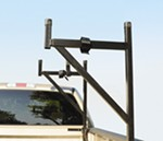 DeeZee Customizable Truck Bed Ladder Rack with Tie-Downs - Side Mount - 200 lbs