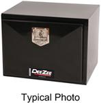 DeeZee Specialty Series Underbody Toolbox - Steel - 9 Cu Ft - Black