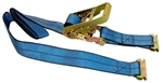 E-Track Strap with Ratchet - 7'