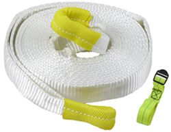 "Erickson Recovery Tow Strap with Reinforced Loop Ends, 2"" x 20' - 18,000 lbs"