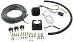 Brake Controller 6 and 4 Way Installation Kit, 10 Gauge