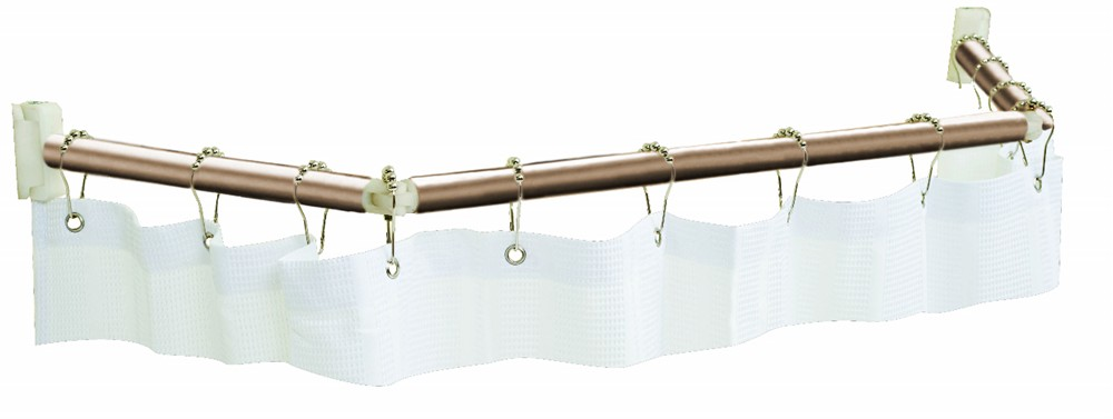 """Stromberg Carlson Extend-A-Shower Shower Curtain Rod for RVs - 54"""" to ..."""