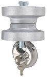 Blaylock EZ Lock Trailer Coupler Lock for Lunette Ring Couplers - Aluminum
