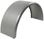 "16-Gauge Steel, Single-Axle Trailer Fender, 10-3/4"" Wide - 14"" to 15"" Tires"