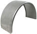 "16-Gauge Steel, Single-Axle Trailer Fender - 16""-16.5"" Tires"