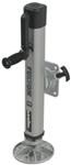 "Fulton F2 Swing-Up Jack w/ Pivoting Footplate - 5"" Frame, Weld On - Sidewind - 2,000 lbs"