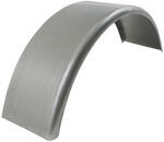 "16-Gauge Steel, Single-Axle Trailer Fender, 1"" Radius Front/90-Degree Back - 13-14"" Tires"