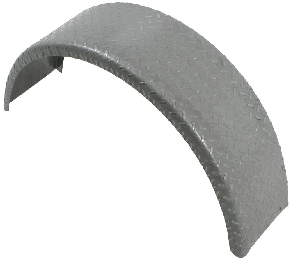 Trailer Fenders With Backing Plate : Single axle trailer fender gauge steel tread plate