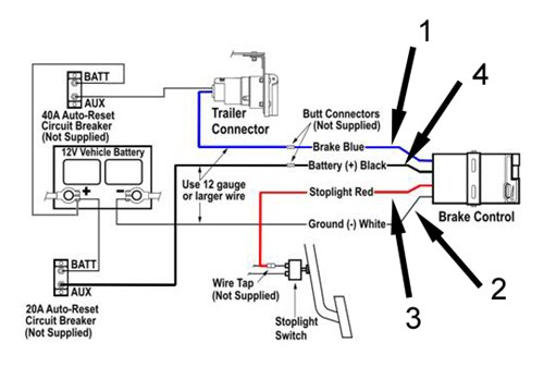 trailer brake controller information com diagram of a brake controller intallation