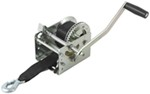 Fulton High-Performance 2-Speed Trailer Winch w/ Strap - 2,000 lbs