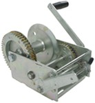 Fulton High-Performance 2-Speed Trailer Winch w/ Handbrake - Cable Only - 3,700 lbs