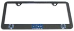 Indianapolis Colts NFL 3-D License Plate Frame - Chrome-Plated Steel