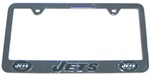 New York Jets NFL 3-D License Plate Frame - Chrome-Plated Steel