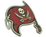 Tampa Bay Buccaneers Logo NFL Trailer Hitch Receiver Cover