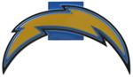San Diego Chargers Logo NFL Trailer Hitch Cover