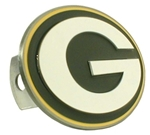 Green Bay Packers Oval NFL Trailer Hitch Receiver Cover