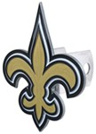 "New Orleans Saints NFL Trailer Hitch Receiver Cover - 2"" Hitches - Zinc"