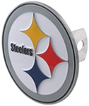 Pittsburgh Steelers Round NFL Trailer Hitch Receiver Cover