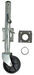 "Fulton Round, Snap-Ring Swivel Marine Jack - Weld On - Sidewind - 10"" Lift - 1,200 lbs"