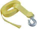 "Fulton Heavy-Duty Winch Strap with Hook - 20' x 2"" - 10,000 lbs"