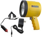 1-Million-CP Spotlight - Hand-Held, Cordless - Rechargeable w/ 6-Volt DC Charger - Yellow