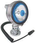 Glare-Free Saltwater/Marine Spotlight - Adjustable Brightness - Magnet Mount - 10' Power Cord