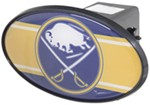 "Buffalo Sabres 2"" NHL Trailer Hitch Receiver Cover - ABS Plastic"