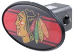 "Chicago Blackhawks 2"" NHL Trailer Hitch Receiver Cover - ABS Plastic"