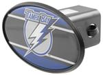 "Tampa Bay Lightning 2"" NHL Trailer Hitch Receiver Cover - ABS Plastic"