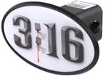 "3:16 2"" Trailer Hitch Receiver Cover - ABS Plastic"