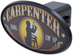 "Carpenter 2"" Trailer Hitch Receiver Cover - ABS Plastic"