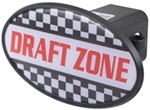 "Draft Zone 2"" Trailer Hitch Receiver Cover - ABS Plastic"
